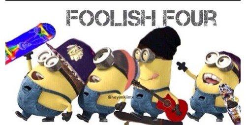The foolish 4 ♥