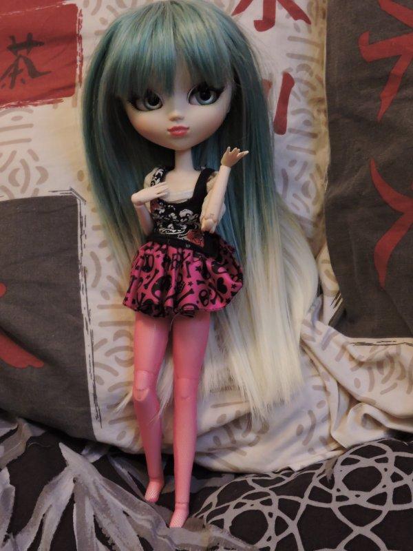 Présentation de mes dolls - Kimmy Anderson
