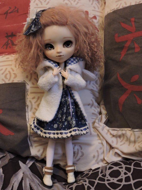 Présentation de mes dolls - Fluffy Hawkins