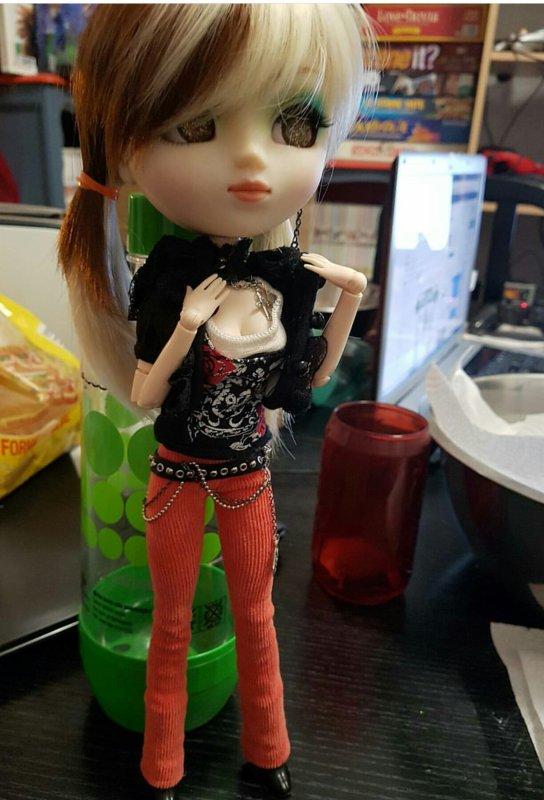 Présentation de mes dolls - Phyliss Turner