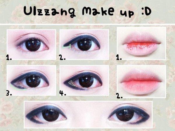 Ulzzang makeup n°1