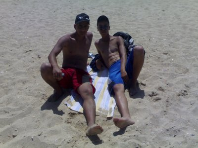 fi la plage ta3 marina smir fi titouan m3a lakhribgui