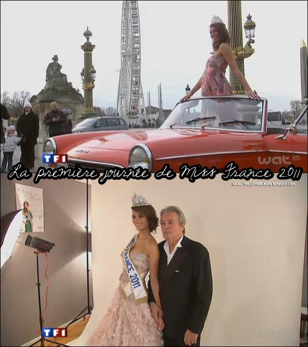 .   05/12/10 _Découvre la premiere journée en tant que Miss France 2011 de Laury Thilleman à Paris. _____ Photoshoot , interview ça commence déja fort pour notre nouvelle Miss France !    .