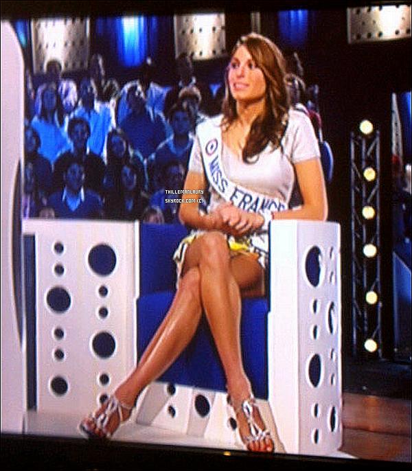 .   09/12/10 : Laury et Sylvie Tellier sur le tournage de l'émission Touche pas à mon poste sur France 4. 09/12/10 : Miss France 2011 sur le tournage de l'émission On n'est pas couché sur France 2 . .