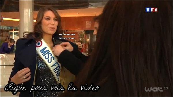 .   MISS FRANCE ET SYLVIE TELLIER DANS LA NUIT NOUS APPARTIENT  LE 9/12 !   Laury Thilleman, Miss France 2011, dans l'émission La nuit nous appartient sur NRJ12 le mercredi 9 décembre. Accompagnée de Sylvie Tellier, les deux Miss France ont eu une épreuve de crêpes assez fun. .