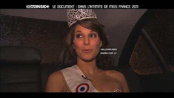 .   MISS FRANCE 2011 SERA DANS 50MIN INSIDE SE SOIR RENDEZ VOUS A 18H25 !   Voici des captures de l'émission diffusé se soir. Tu decouvrira la premiere semaine de Laury. .