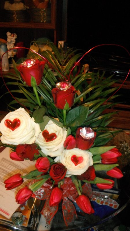compositions pour la saint valentin!