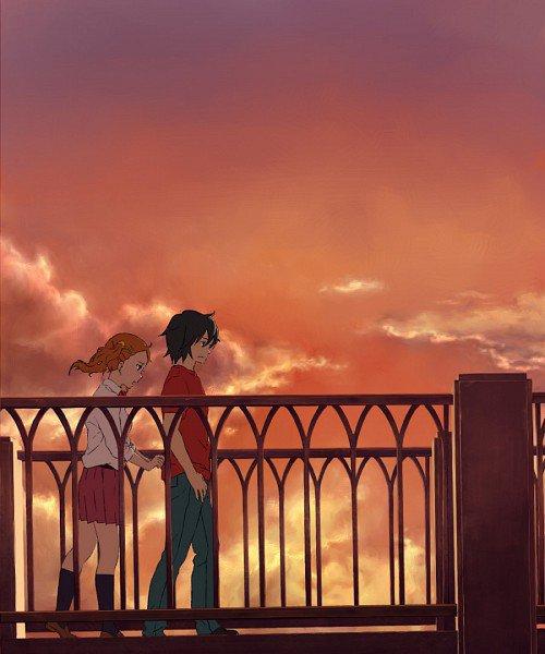 """""""La mienne sera bleue. De cette couleur du ciel que tu disais aimer, le jour ou l'on s'est rencontrés."""" [All You Need Is Kill]"""