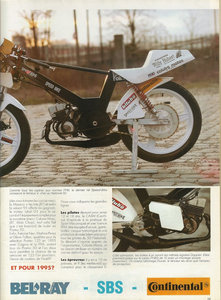 Speed Bike Promo 50 1995