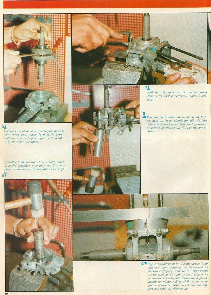 Montage du Bidalot Radial