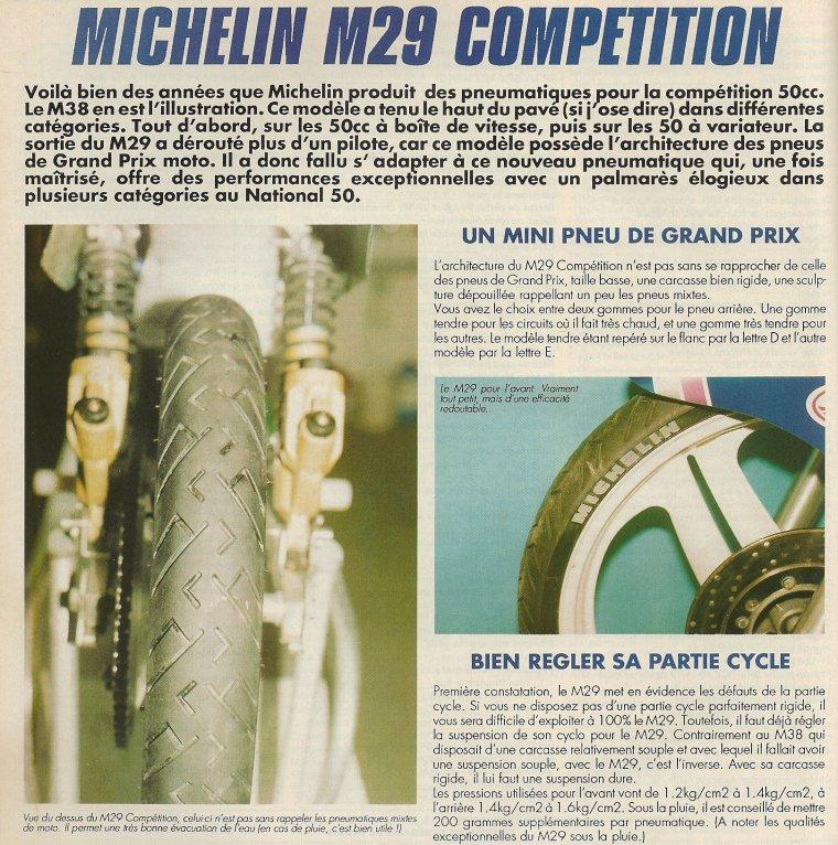 Michelin M29C