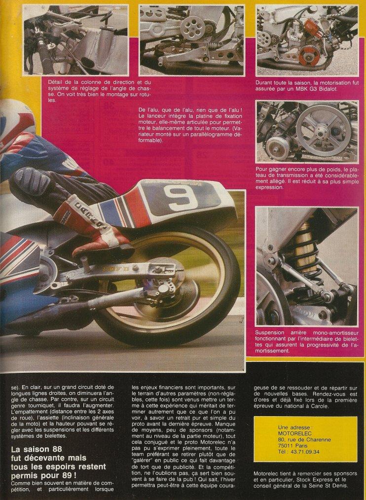 Proto G3 Motorelec 1988 CQFD!!