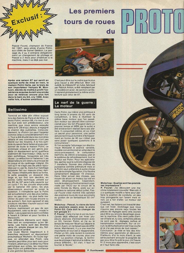 Proto Polini G3 1988