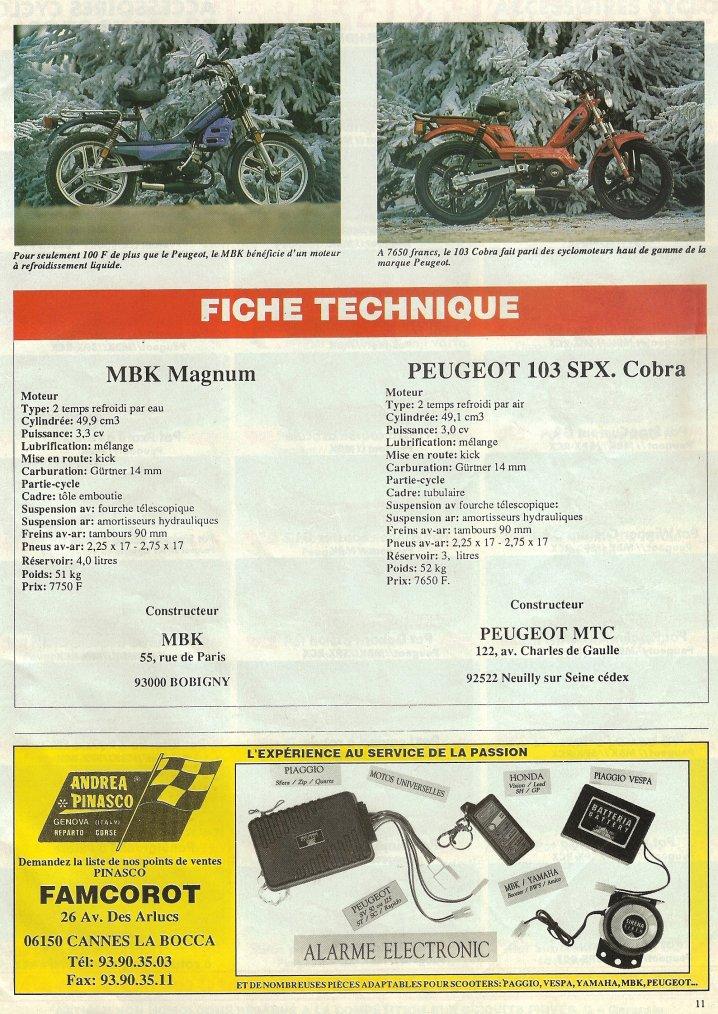 Magnum 93 vs 103 SPX Cobra