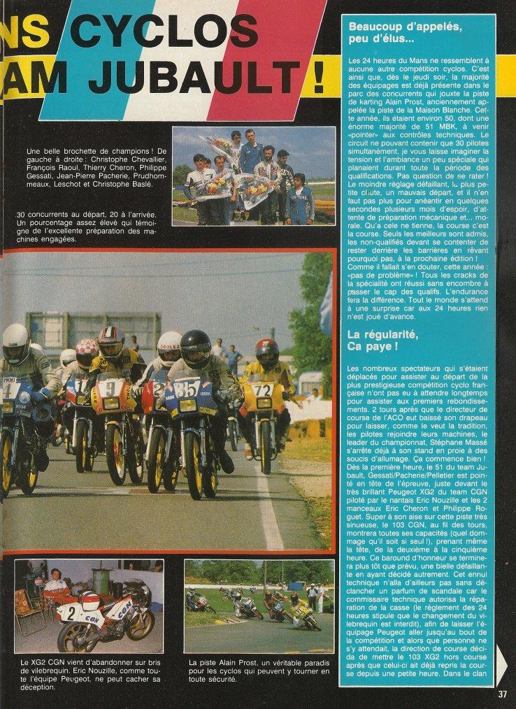 Les 24h du Mans 1988!!