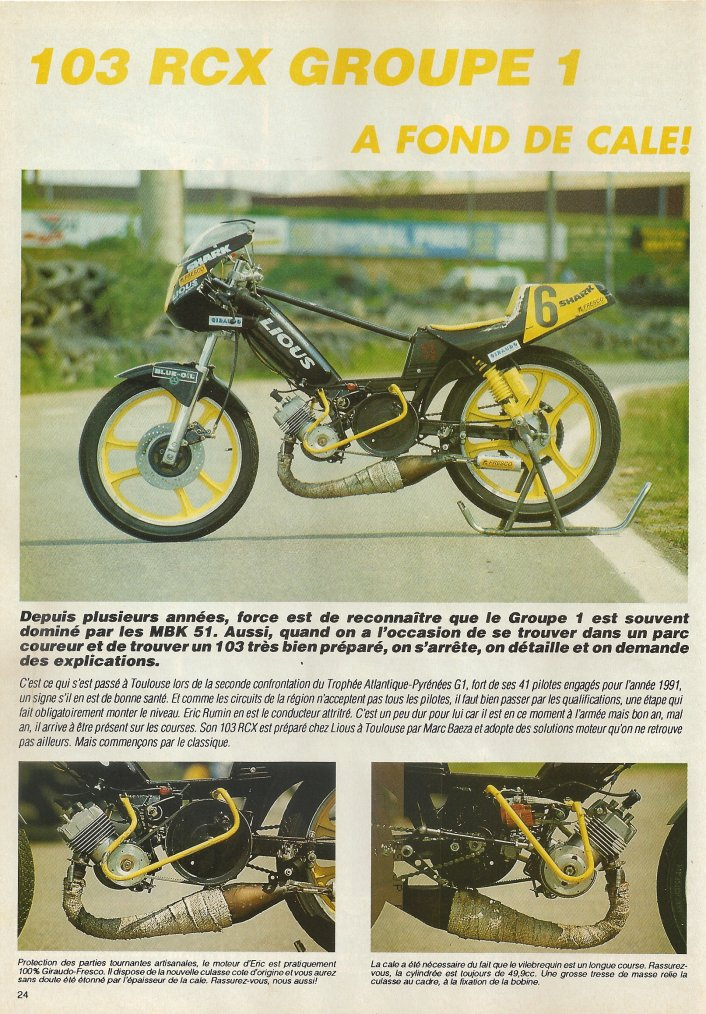 103 RCX Groupe 1