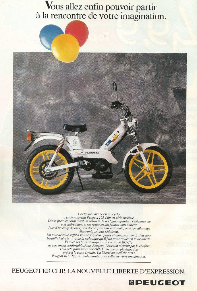 Peugeot 103 Clip