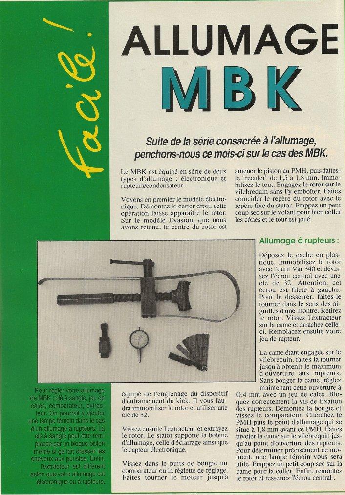 Allumage MBK 51