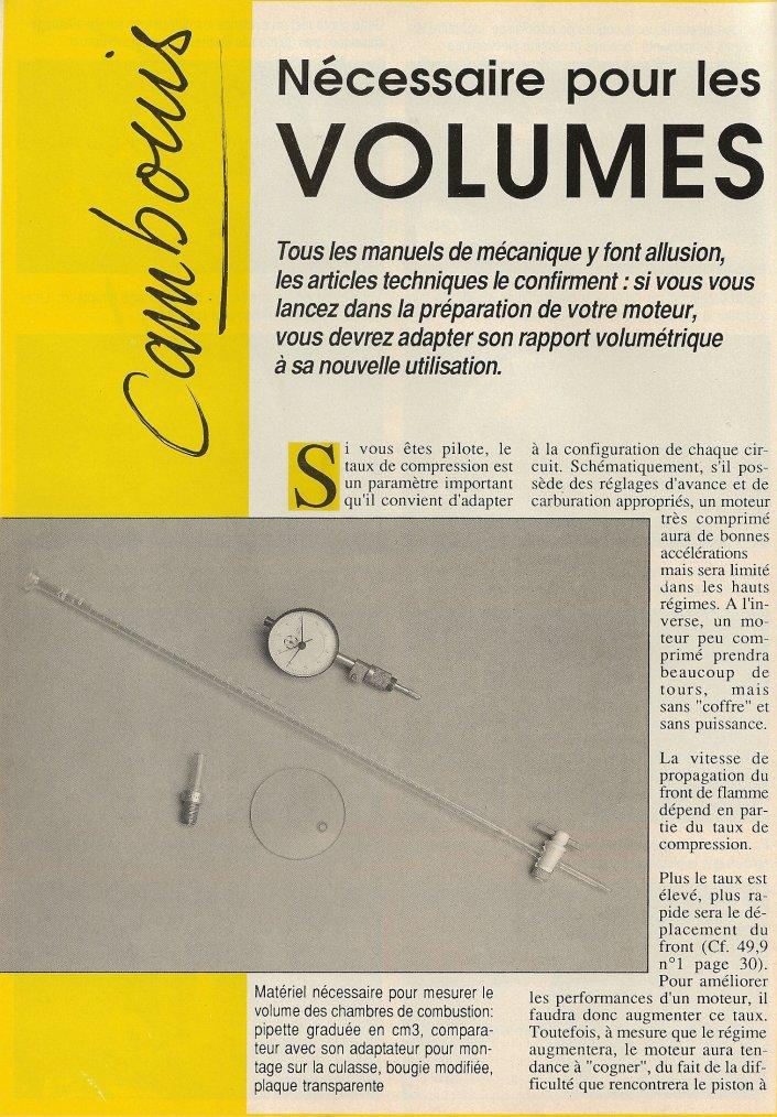 Rapport Volumétrique!!