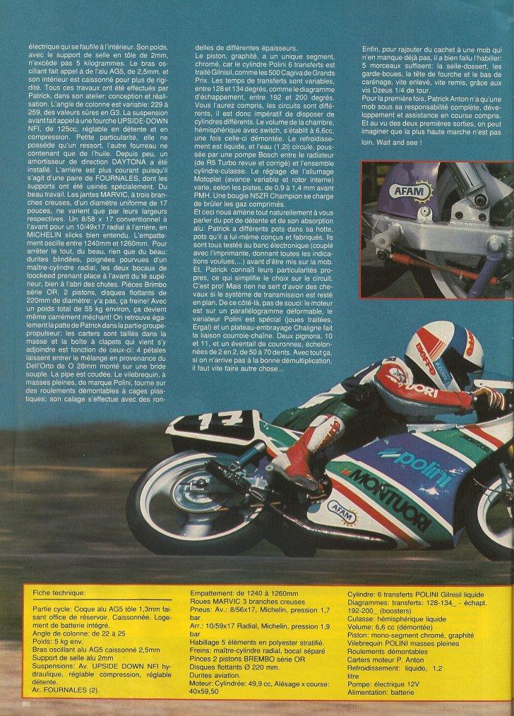 Proto G3 Polini 1990 : La Rage de Vaincre!!