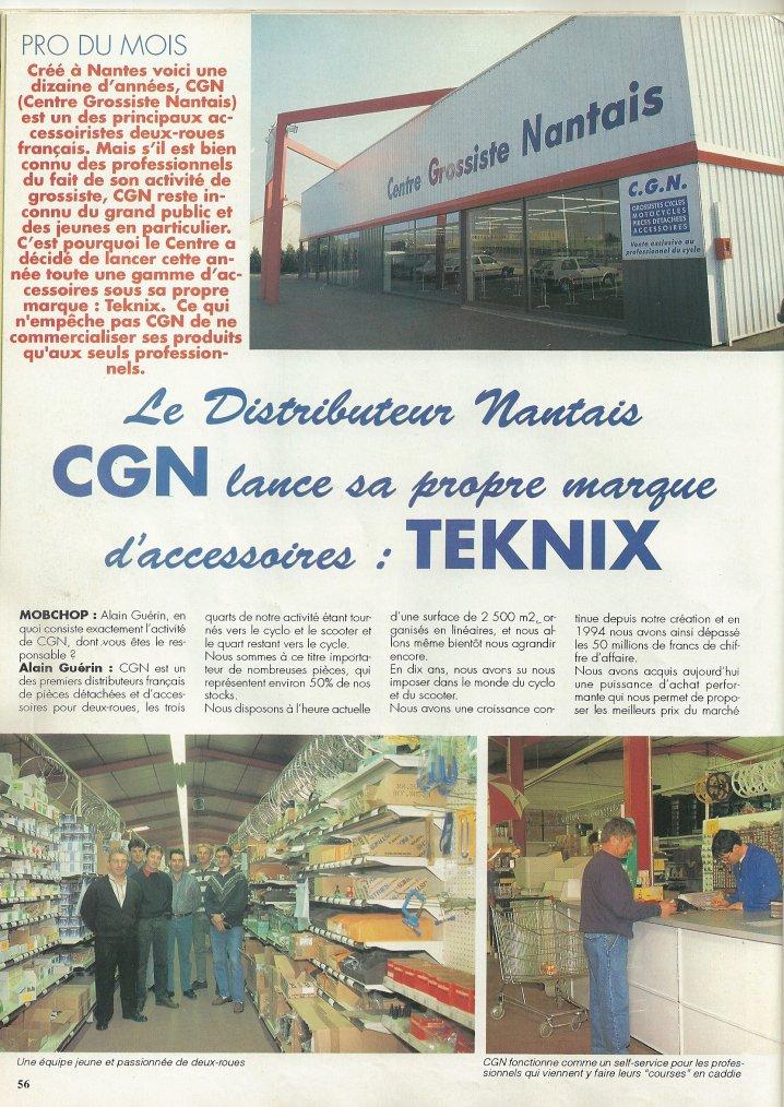 CGN lance la Marque Teknix!!