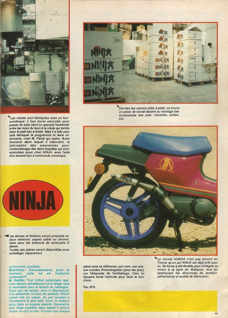 Ninja : Le Pro du Pot!!