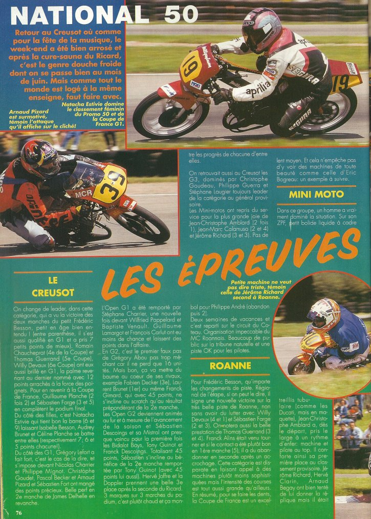 National 50 : Le Creusot!!