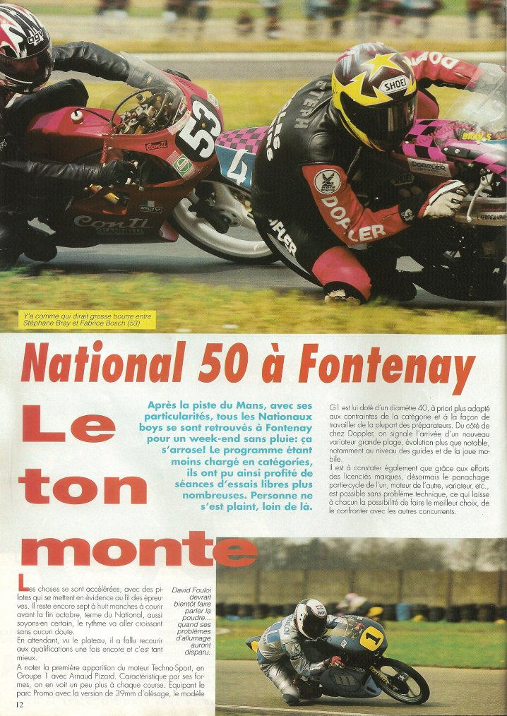 National 50 : Fontenay!!