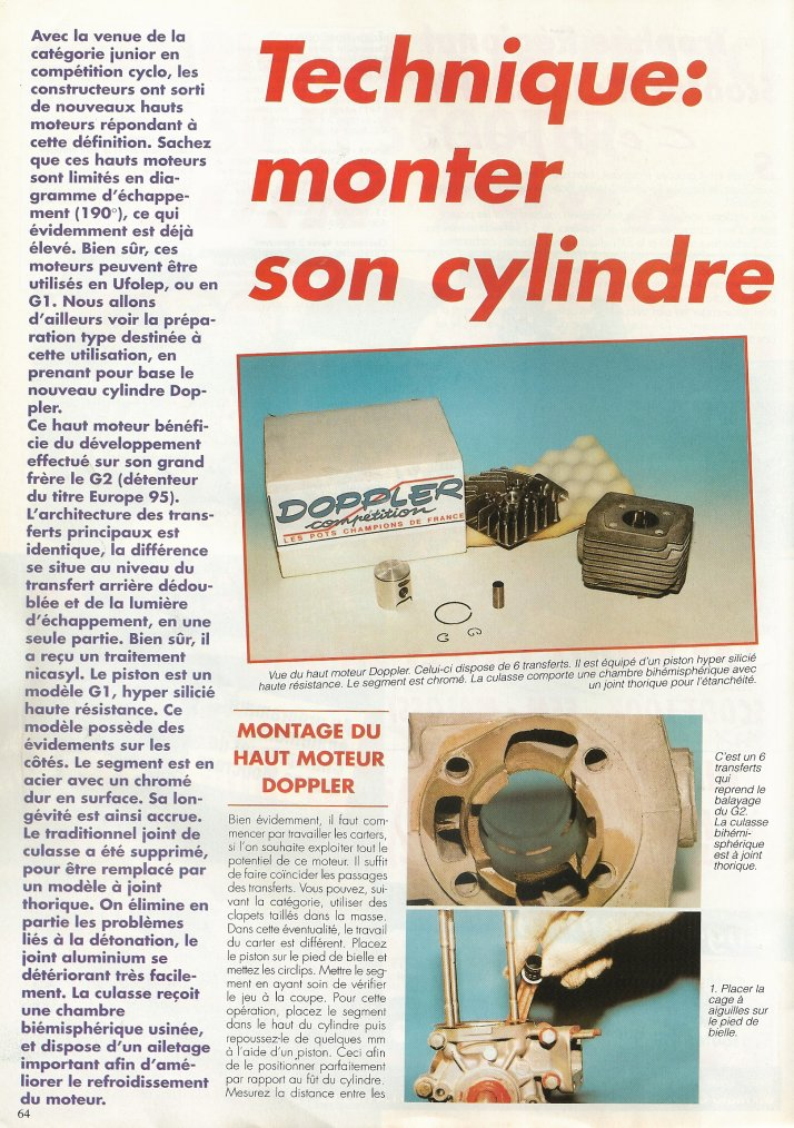 Technique : Monter Son Cylindre!!