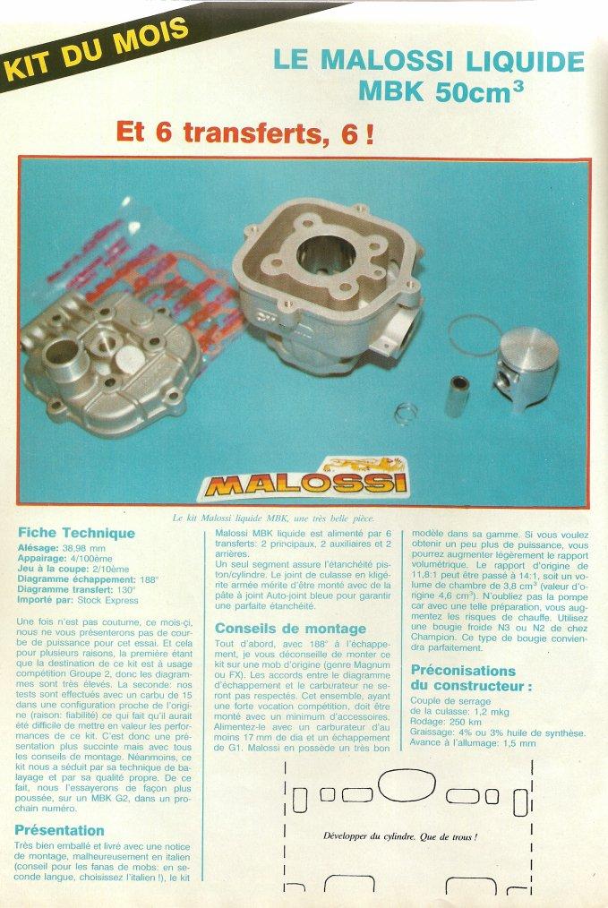 Kit du Mois : Malossi Liquide MBK 51!!