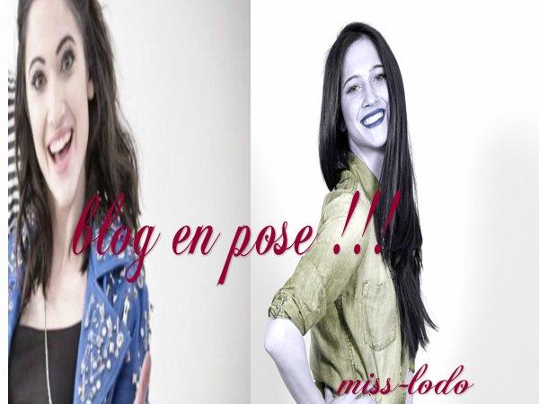 blog en pose !