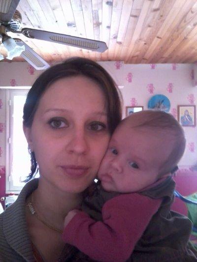 moi et ma fille élisa