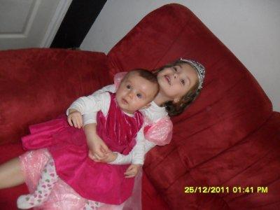 mé princesses!!!!