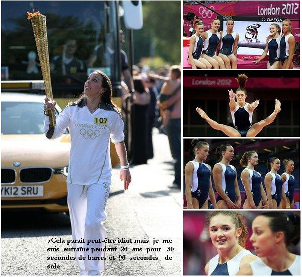 - ON WEB GYMNASTICS - Les Anglaises Du fait que les  Jeux   Olympiques se  déroulent   à  Londres , donc le  pays des gymnastes Anglaises. Pensez-vous  que cela  va être une motivation pour elles et leur permettre de décrocher des médailles ? Une  finale  aux barres pour Beth ? Vos avis !