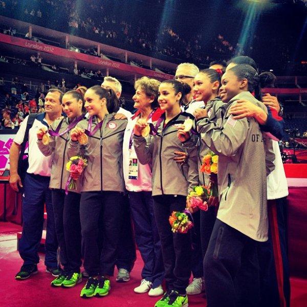 - ON WEB GYMNASTICS - Jeux Olympiques Finale , les USA l'emportent -