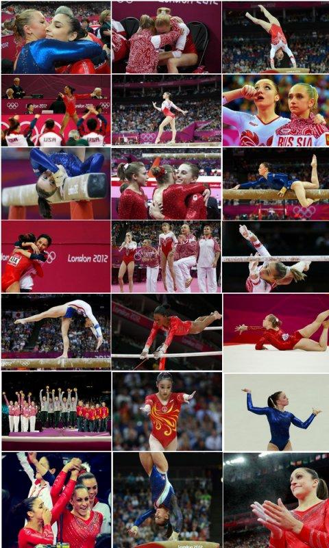 - ON WEB GYMNASTICS - Jeux Olympiques Photos de la finale par équipe  -