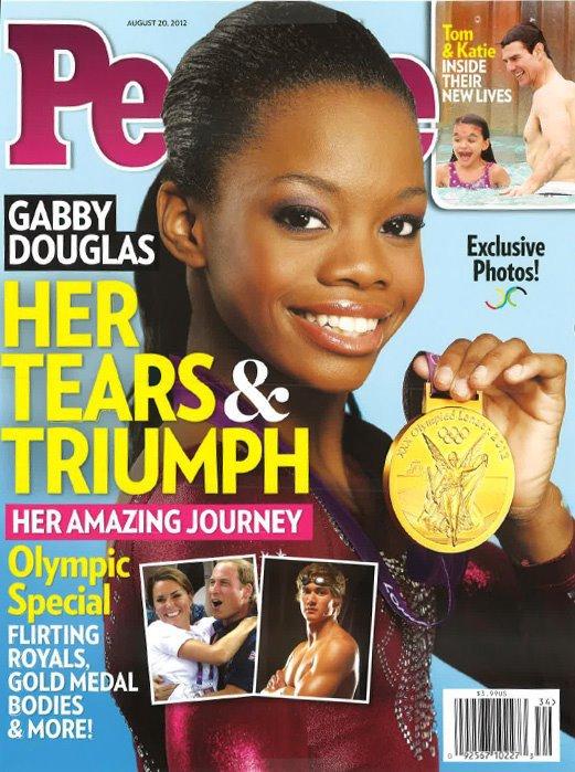 - ON WEB GYMNASTICS - Gabrielle Douglas Son titre l'a rendu célèbre, Douglas en couverture du magazine américain People -