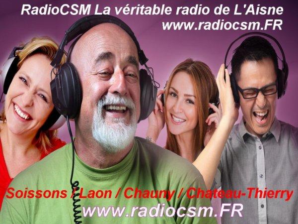 Radio a Laon  RadioCSM