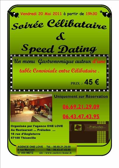 Soirée Célibataire autour d'un cocktail Dinatoire et Speed Dating