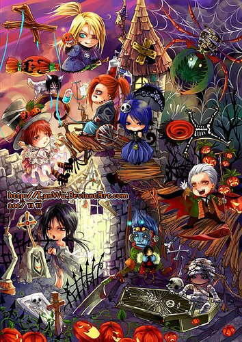 Sumimasen !!! to...Joyeux halloween aussi !!