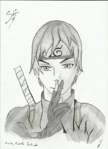 Dessins (spéciale Naruto, 2°)