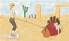 Avant/Après - Link dans le désert Gerudo