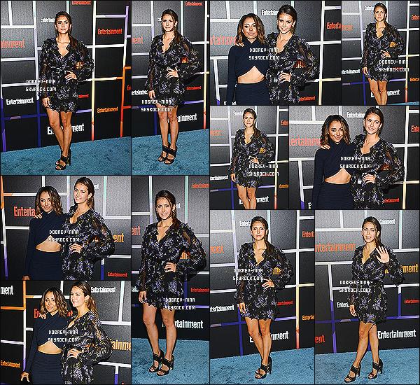 26/07/14 : N. était présente à l'événement par Entertainment Weekly avec sa co-star Kat Graham à San Diego. Nina est très jolie dans cette robe , cependant j'aurai préféré une coiffure plus recherché ... TOP ou FLOP sur la tenue que porte Nina Dobrev ?!