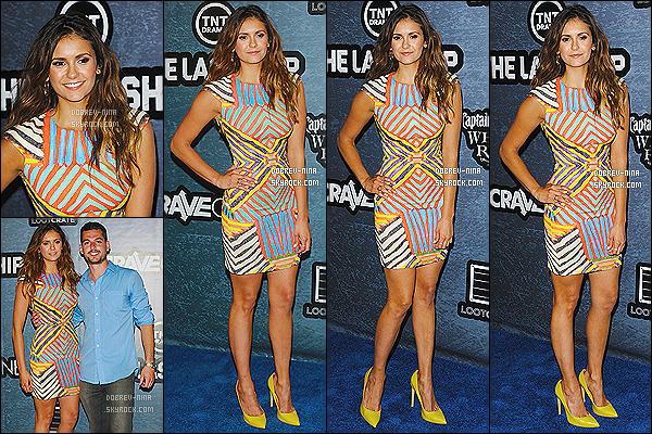 25/07/2014: La sublime Nina Dobrev était présente à l'événement « Playboy A&E's Bates Motel » à San Diego. Miss Nina est tout simplement sublime, j'ai un coup de c½ur pour la robe qui est très belle. Et superbes chaussures jaunes. Donnez-moi votre avis