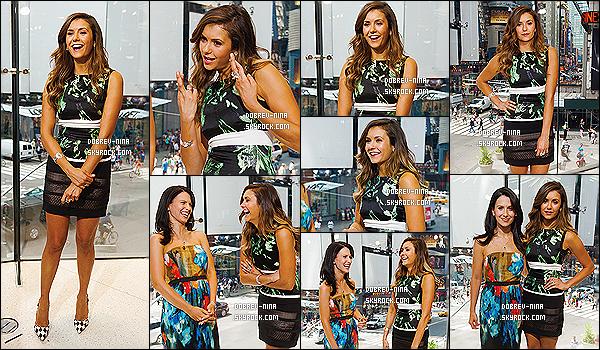 04/08/2014 : La belle Nina Dobreva a été photographié dans les rues de Times Square situé à New York City. Nina sera présente sur le plateau de l'émission EXTRA pour encore faire de la promo pour son prochain film: Let's Be Cops qui sortira en Aout 2014.