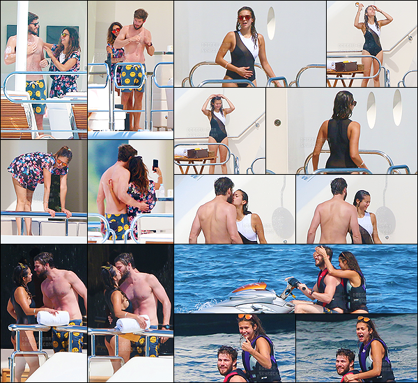 25/07/2015 : La belle Nina et son boyfriend Austin ont été photographiés sur leur yacht cette fois-ci à Monaco. Tellement mignon ce couple, n'es-ce pas? De plus avec eux il y avec également l'actrice Michelle Rodriguez. J'adore son maillot et sa robe fleurie