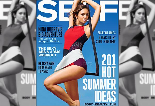 . Découvrez en exclu' la couverture puis des scans réalisés pour le magazine « SELF »Nina a réalisé aussi une interview pour le magazine,elle sera posté à temps sur le blog. La couverture est vraiment très jolie, toujours aussi belle !.