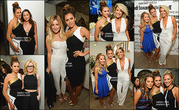 17/01/15 - Nina D. était présente au Nine Zero One Salon Melrose Place Launch Party à Los Angeles Nina portait une robe d'Andrew Gn et des talons Jimmy Choo. Elle posait avec Ashley T, Jenn' Morrison et ses BFF Julianne Hough/Riawna Capri.