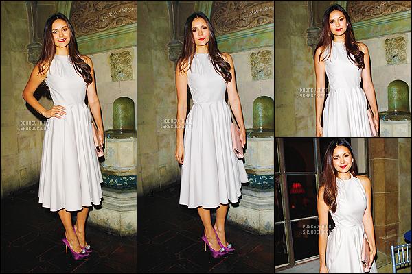 09/01/13: Nina Dobrev était présente à l'événement « Dior Beauty Pre-Golden Globe Dinner » à Los Angeles. Lors de cette soirée Nina a fêtait son 24ème anniversaire. Elle était avec Nikki Reed et Anna Kendrick. Elle était vraiment magnifique, beau TOP
