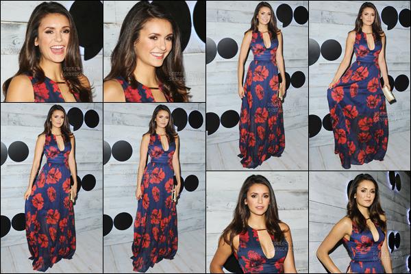 24/09/15 : Nina Dobrev était présente au « VIP Sneak Peek Of go90 Social Entertainment Platform » à LA. Nina était très jolie dans cette robe, même que je ne suis pas fan du fleurie. Sa coiffure est sublime. - Donne ton avis sur Nina par commentaire !